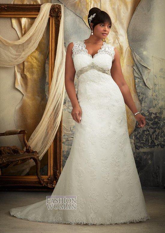 Wedding dresses for fat brides photo # 6