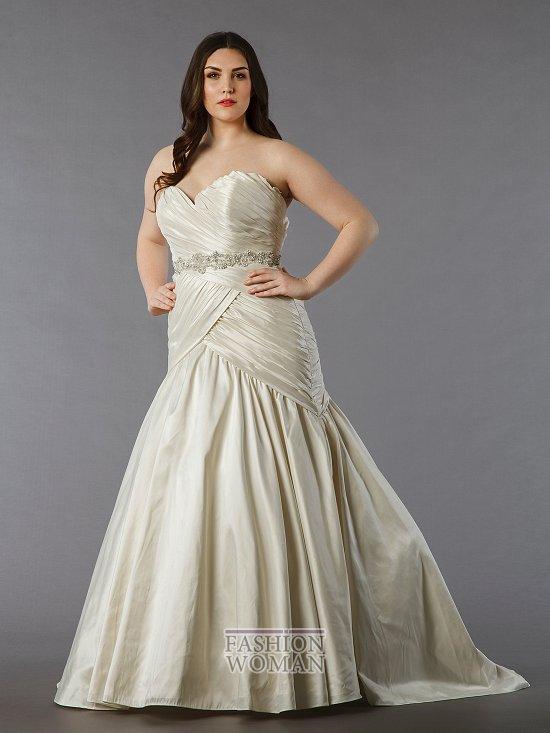 Wedding dresses for fat brides photo # 5