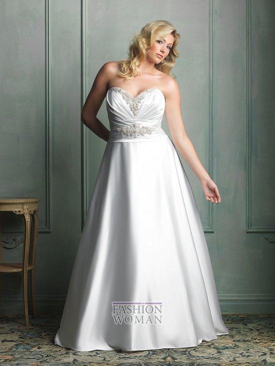 Wedding dresses for fat brides photo # 12