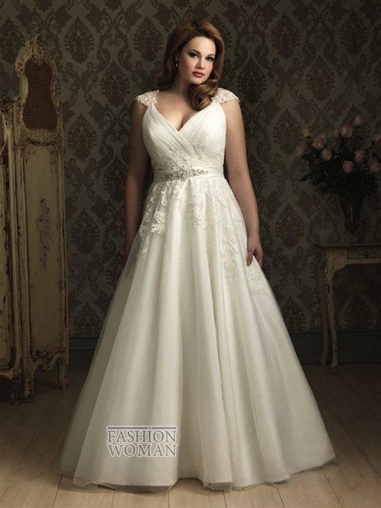 Wedding dresses for fat brides 2015