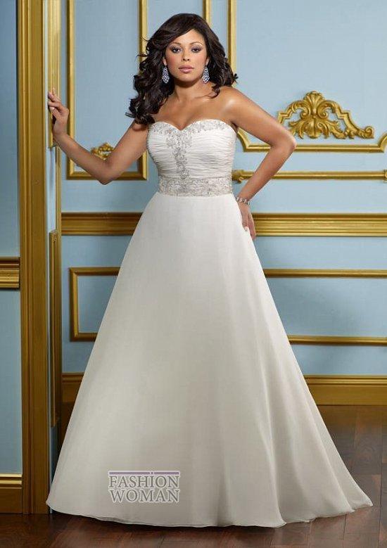 Wedding dresses for fat brides photo # 11