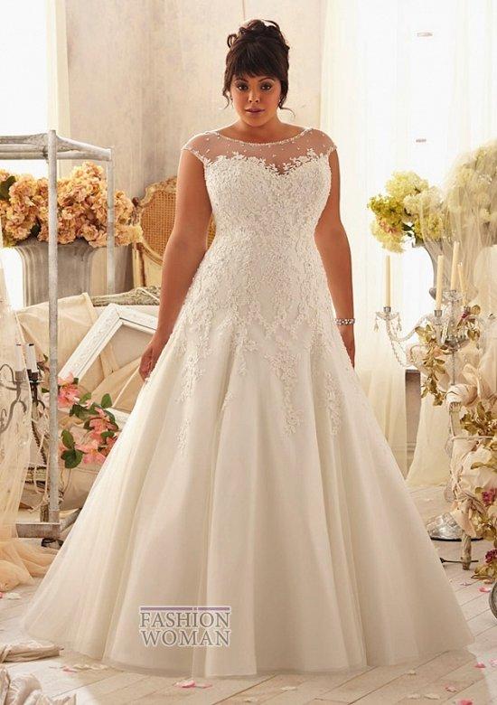 Wedding dresses for fat brides photo # 16