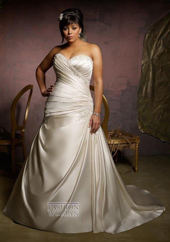 Wedding dresses for fat brides photo # 15