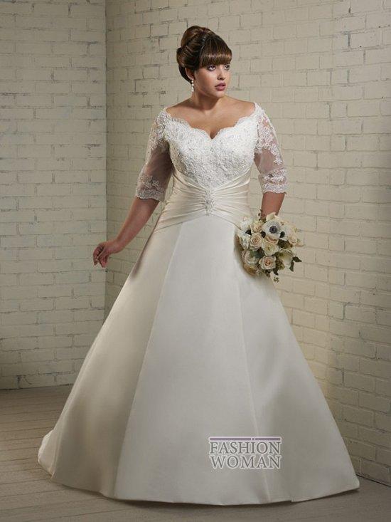 Wedding dresses for fat brides photo # 14