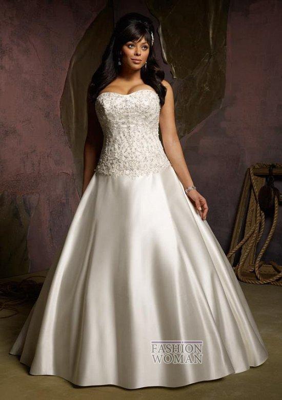 Wedding dresses for fat brides photo # 20