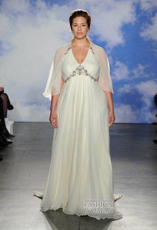 Wedding dresses for fat brides photo # 21