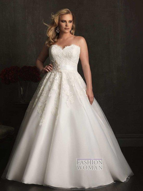 Wedding dresses for fat brides photo # 17