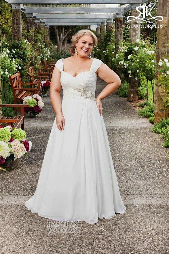 Wedding dresses for fat brides photo # 18