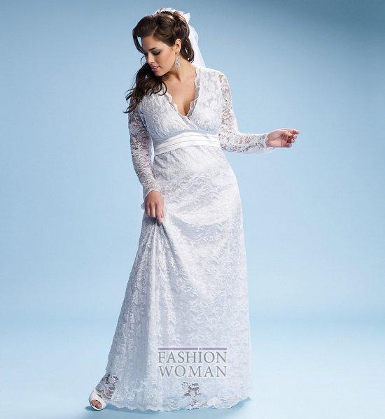 Wedding dresses for fat brides photo # 22