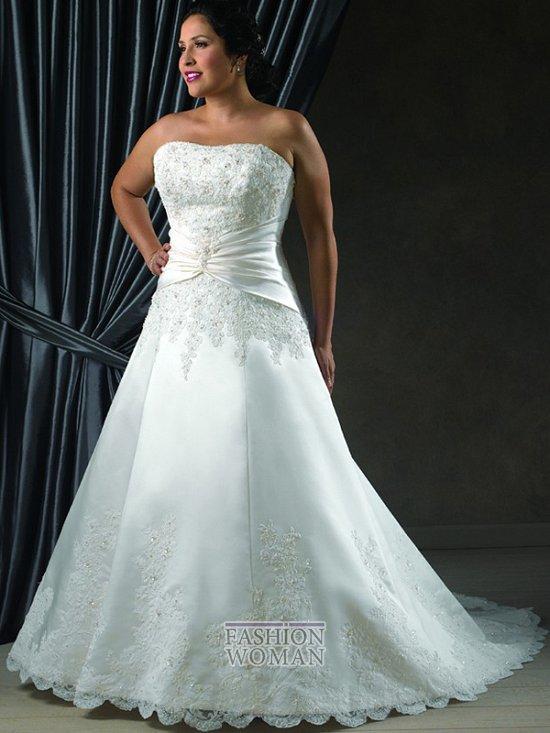 Wedding dresses for fat brides photo # 19