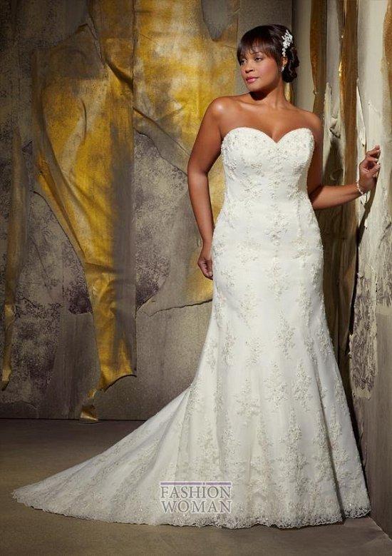 Wedding dresses for fat brides photo # 28