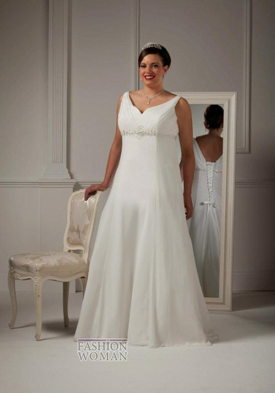 Wedding dresses for fat brides photo # 23