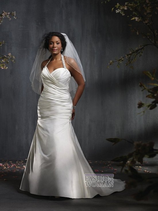 Wedding dresses for fat brides photo # 25