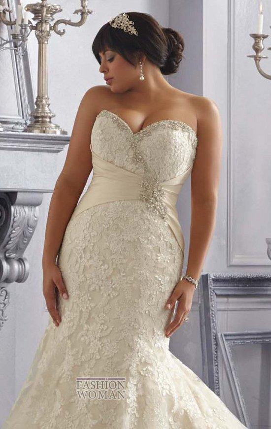 Wedding dresses for fat brides photo # 27