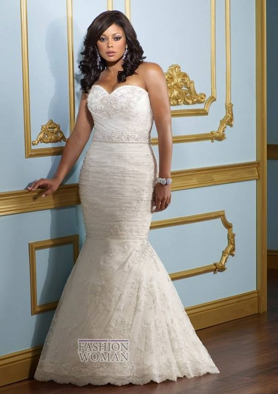 Wedding dresses for fat brides photo # 24