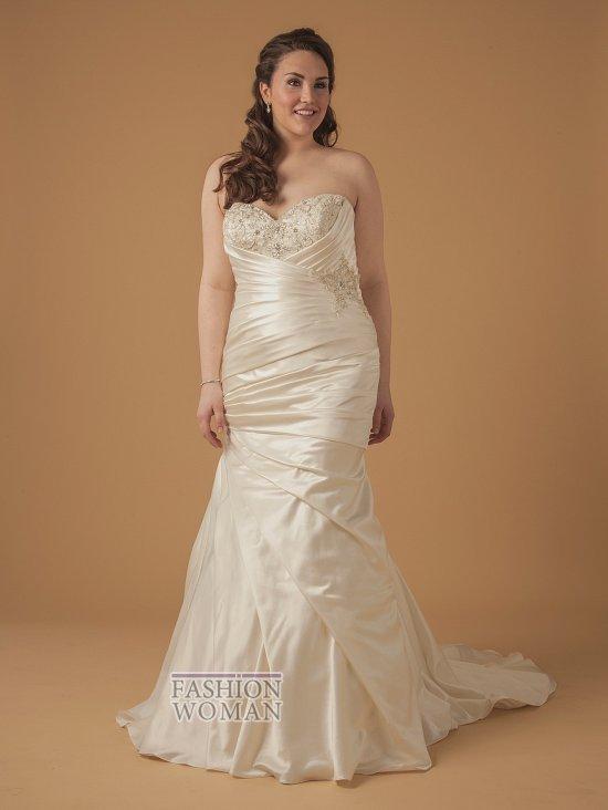 Wedding dresses for fat brides photo # 26