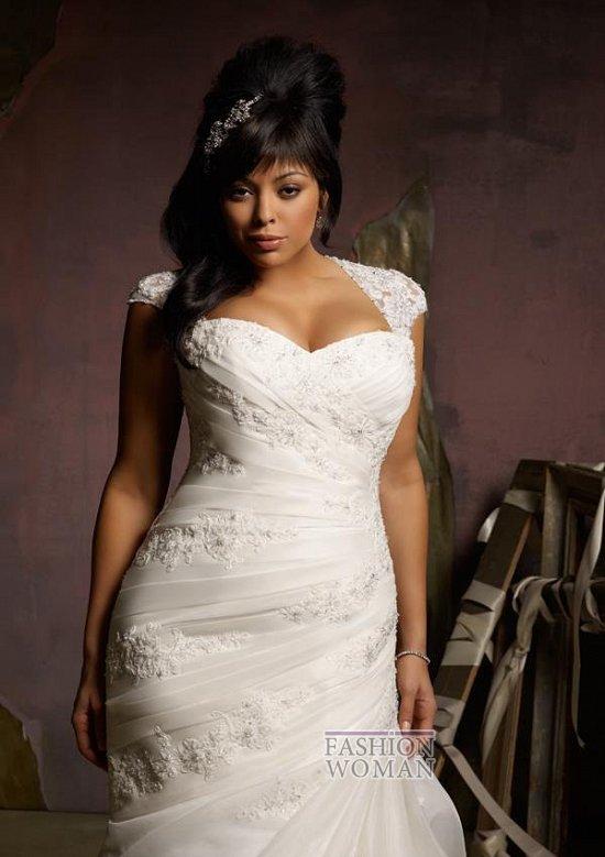 Wedding dresses for fat brides photo # 29