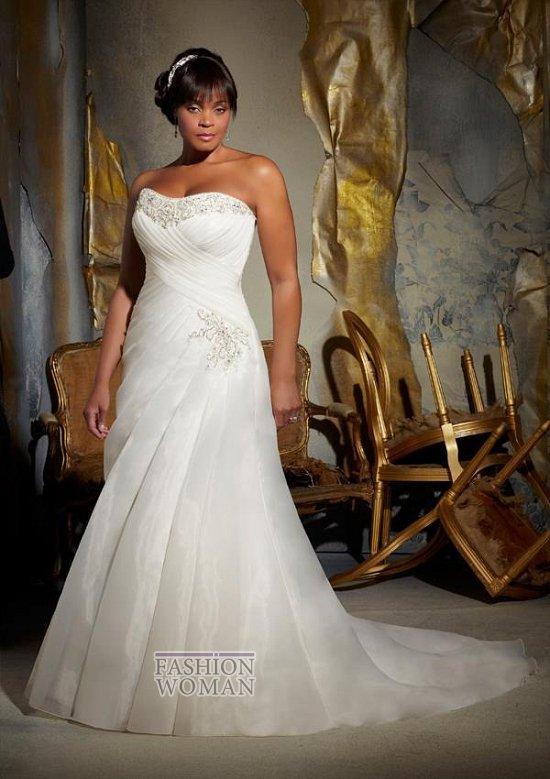 Wedding dresses for fat brides photo # 33