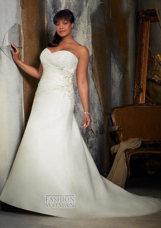 Wedding dresses for fat brides photo # 30