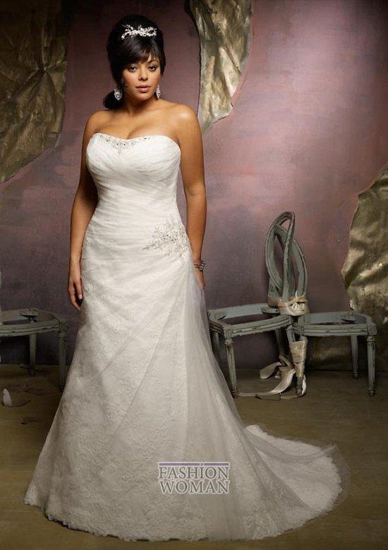 Wedding dresses for fat brides photo # 31
