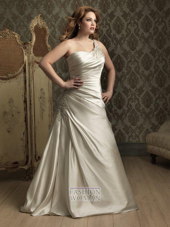 Wedding dresses for fat brides photo # 34