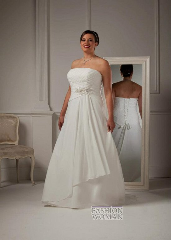 Wedding dresses for fat brides photo # 37