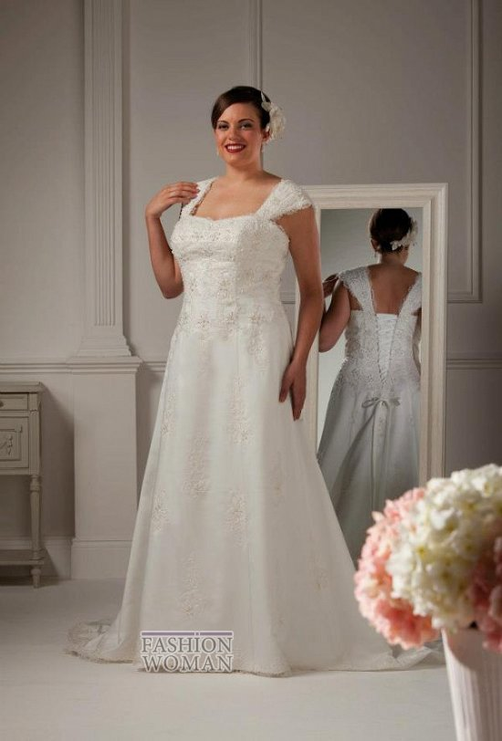 Wedding dresses for fat brides photo # 39