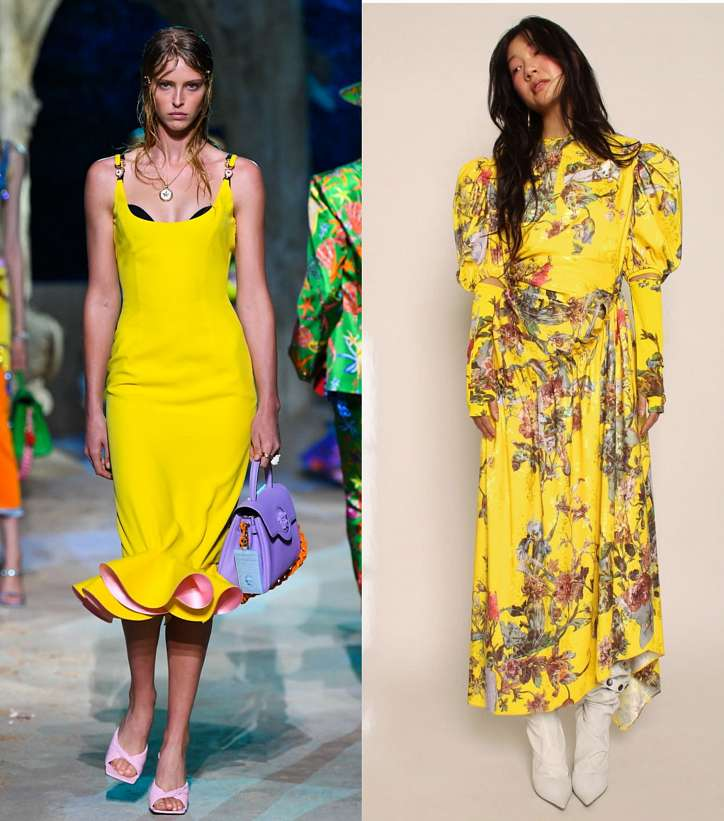 Season trend - yellow color photo # 5
