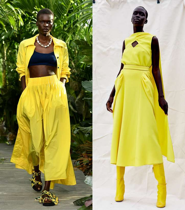 Season trend - yellow color photo # 3
