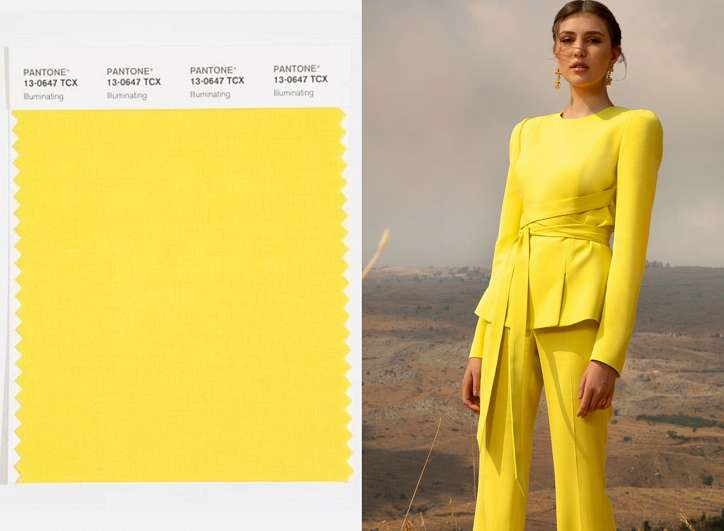 Season trend - yellow color photo # 1