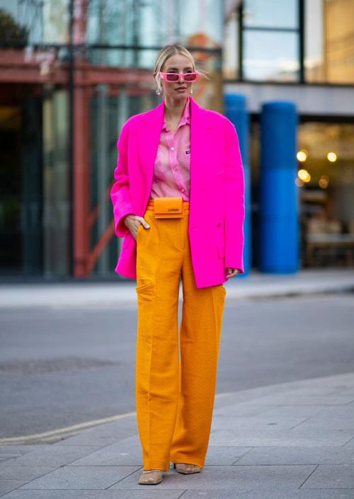 A bright look for cool summer weather