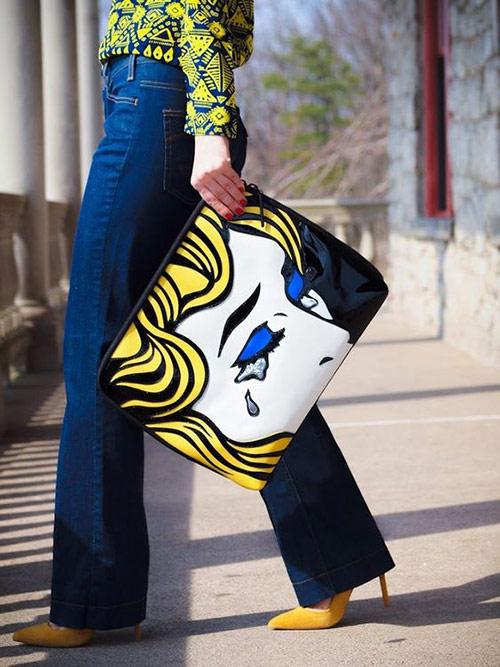 Summer 2021 printed bag