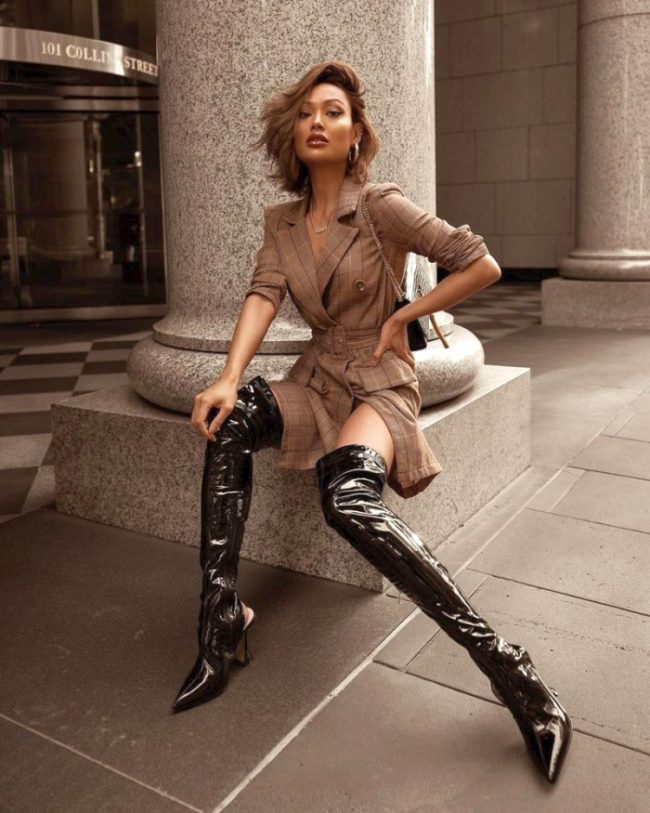 high boots for autumn
