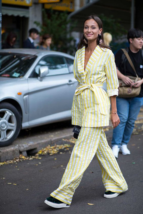 Pajama style is in fashion this summer