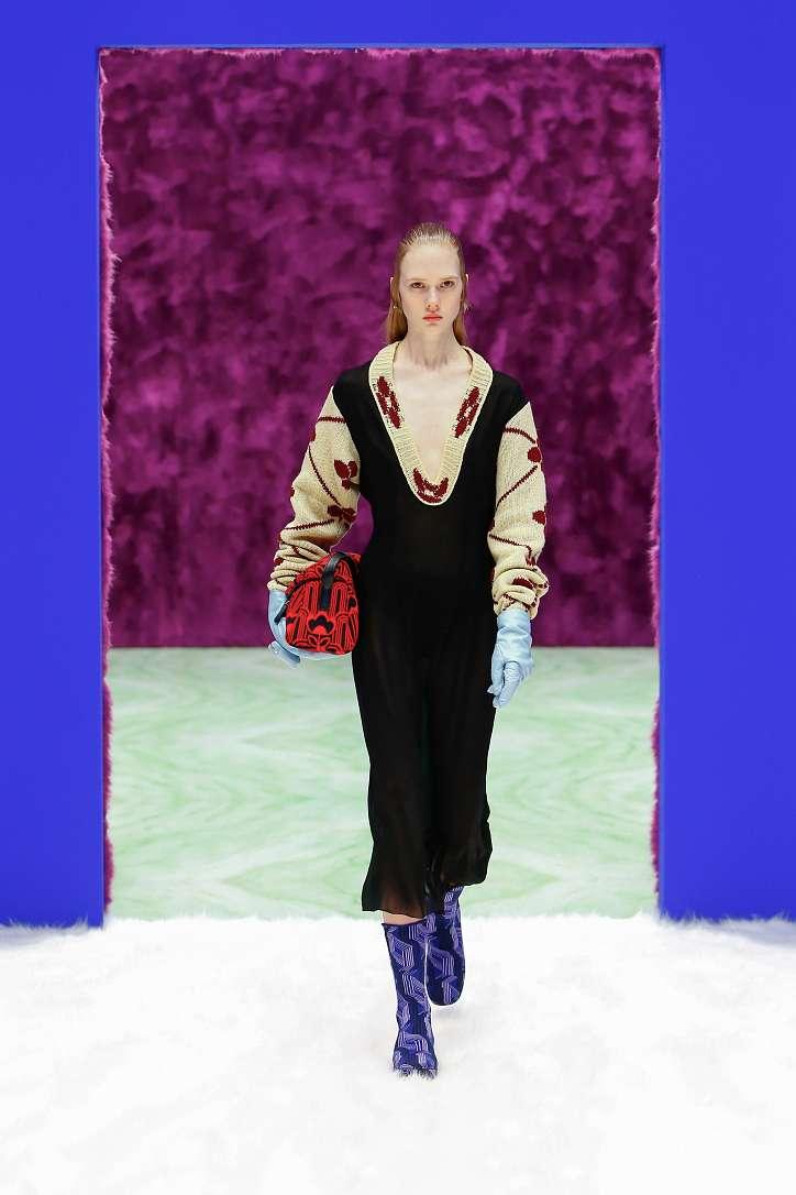 Prada collection autumn-winter 2021-2022 photo # 5