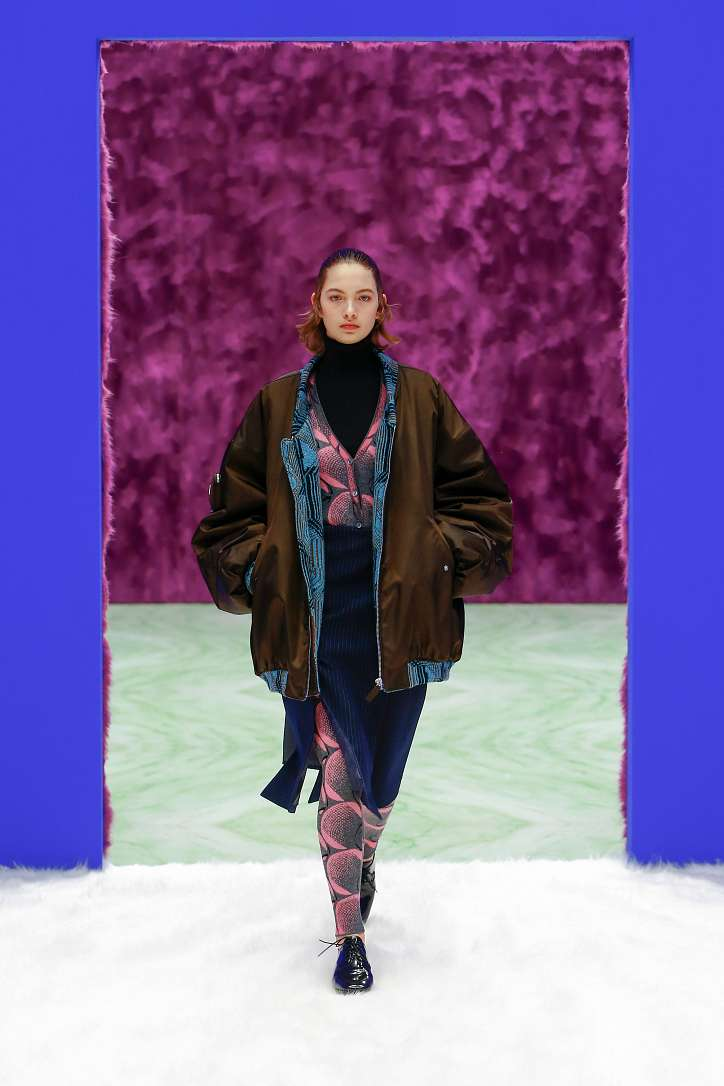 Prada collection autumn-winter 2021-2022 photo # 22