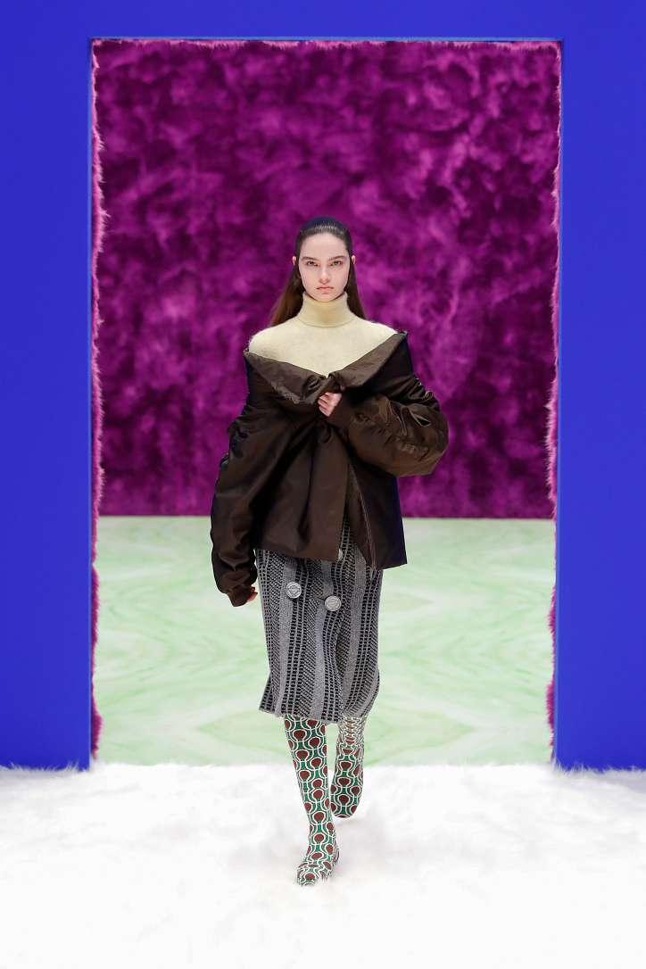 Prada collection autumn-winter 2021-2022 photo # 28