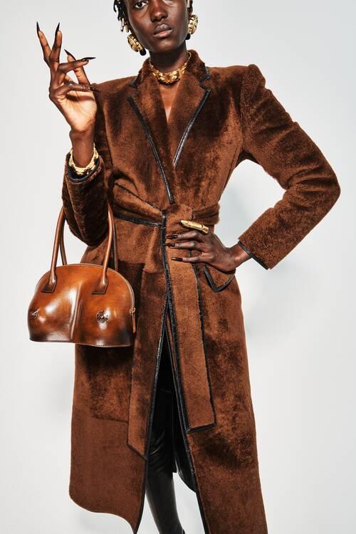 Fashion coats 2021 2022 terracotta coat trend