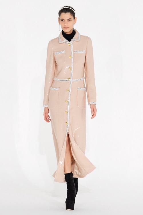 Fashion coats 2021 2022 trend shiny coat