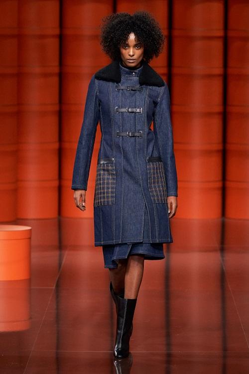 Fashion coats 2021 2022 jeans coat trend