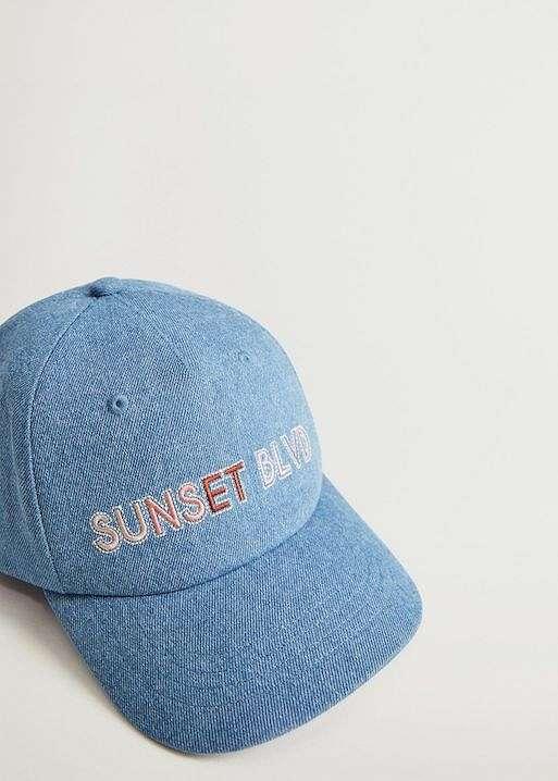 Baseball cap - the main headdress of the season photo №24