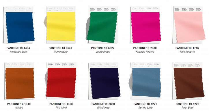Trendy colors fall-winter 2021-2022 photo # 1