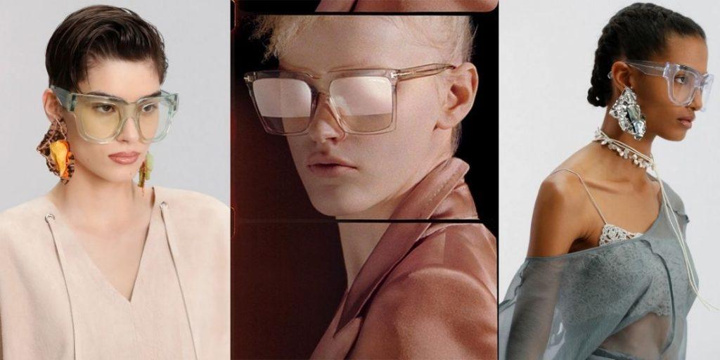 actual glasses transparent masks spring-summer 2021