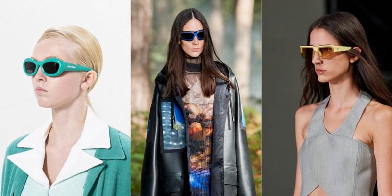 fashionable colored glasses 2021