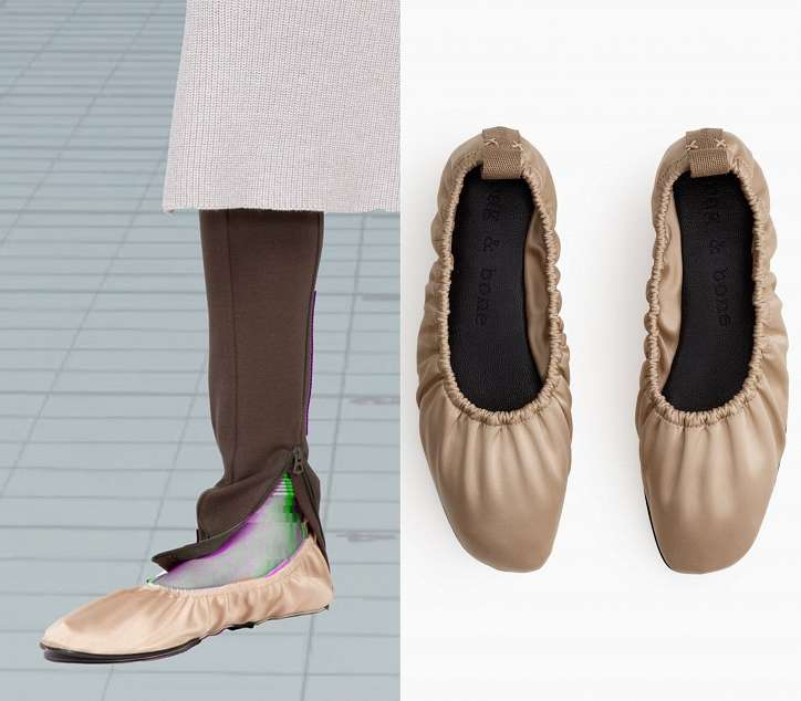 Ballerinas - the most fashionable shoes of the season photo # 3