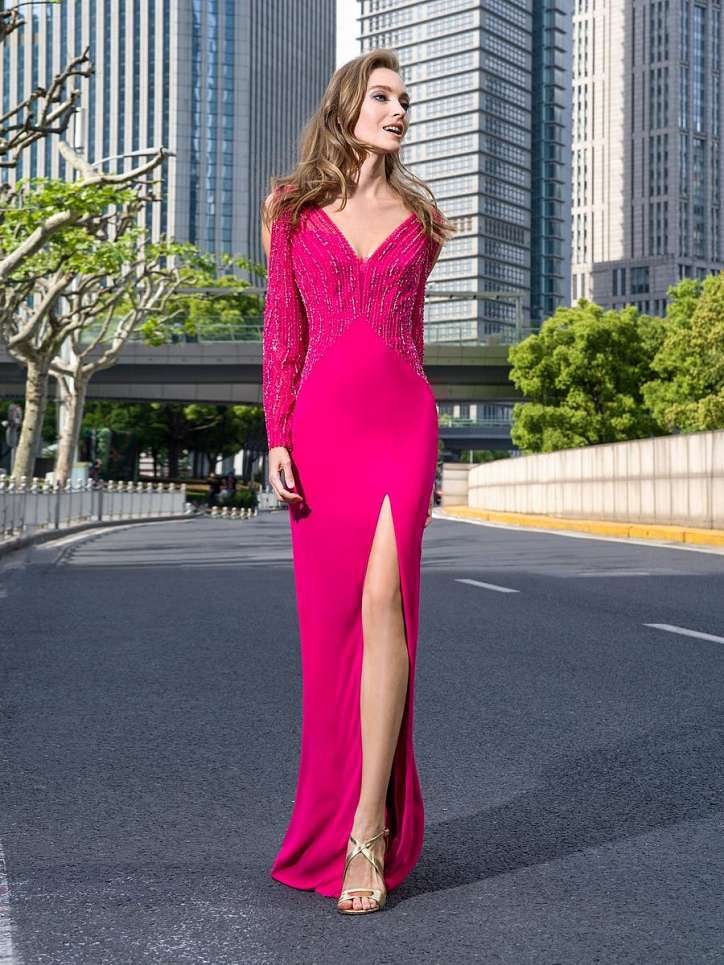 Evening dresses Pronovias 2021 photo # 8