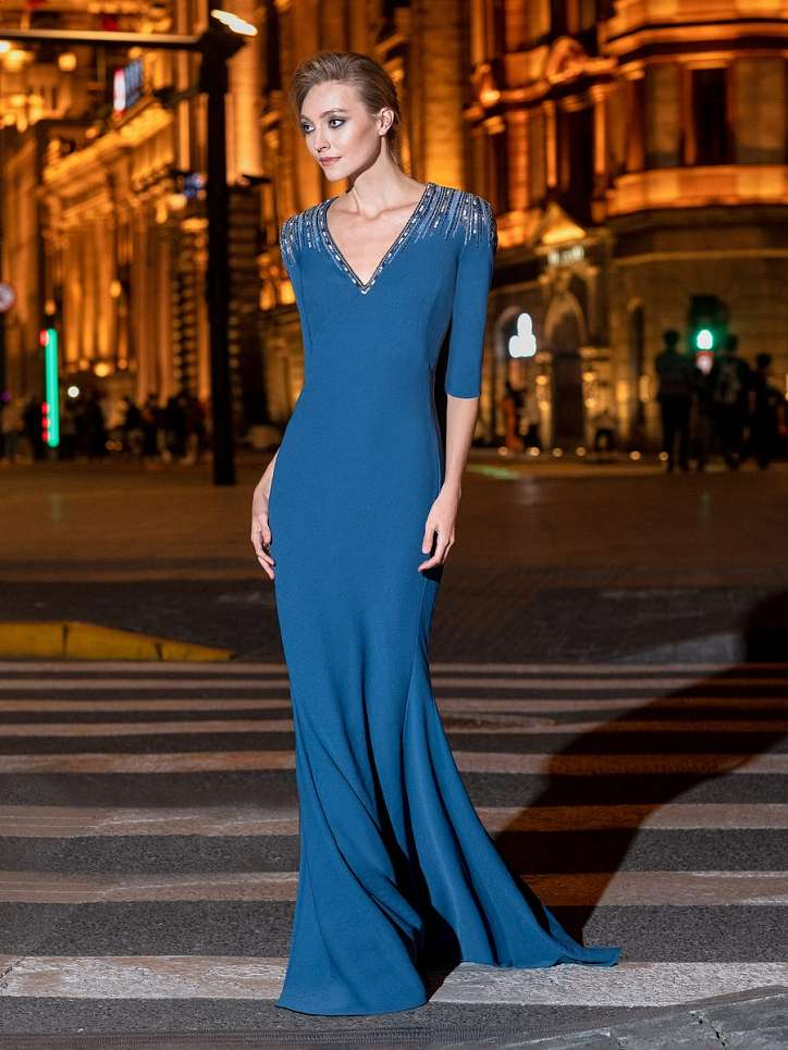 Evening dresses Pronovias 2021 photo # 15