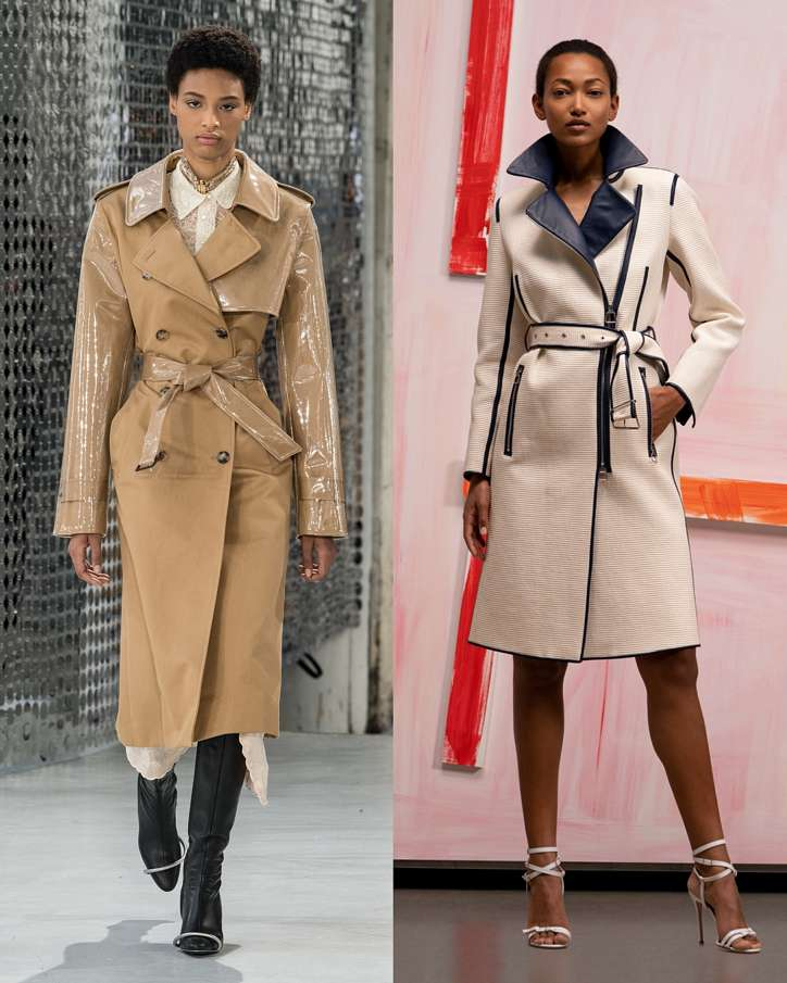 Fashionable raincoats and trench coats 2021: photos of trending models photo # 2