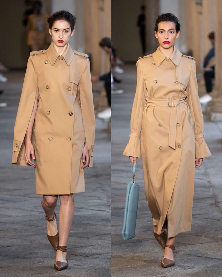 Fashionable raincoats and trench coats 2021: photos of trending models photo # 5