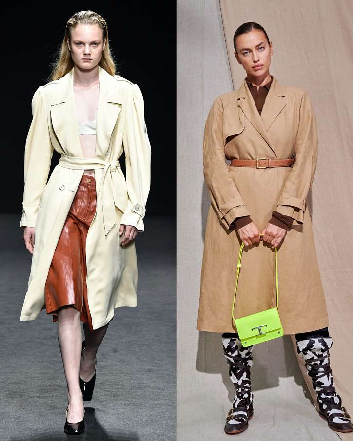 Fashionable raincoats and trench coats 2021: photos of trending models photo # 7